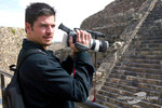 Patrick Carpentier took time off on Thursday to visit the Teotihuacan Pyramids just outside Mexico City