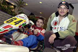 Jacques Villeneuve in Chatham Honda
