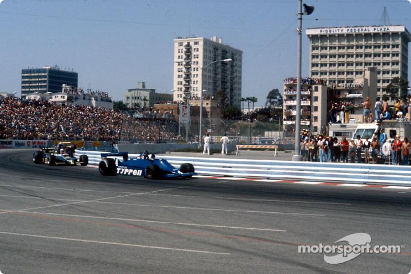 Jean-Pierre Jarier and Mario Andretti
