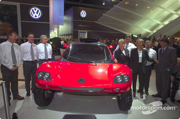 Volkswagen Tarek World debut at the Essen Motor Show: the team