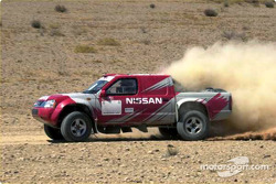 Nissan Rally Raid Team launch: Nissan Pickup