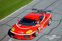JMB Racing USA Team Ferrari Ferrari 360GT with its Maranello-authorized F1 Red exclusive paint