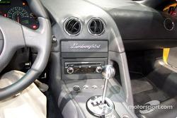 Lamborghini concept car interior