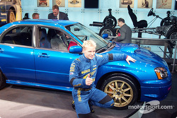 Petter Solberg and the STi