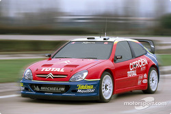 The Citroën Xsara WRC in action