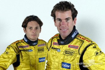 Giancarlo Fisichella and Ralph Firman