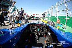 Inside the Sauber