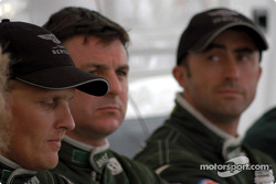 Johnny Herbert, Mark Blundell and David Brabham