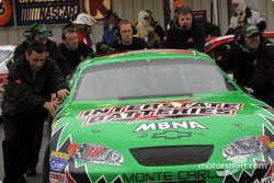 Joe Gibbs Racing crew members