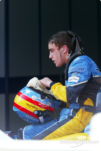 Fernando Alonso tired after the race