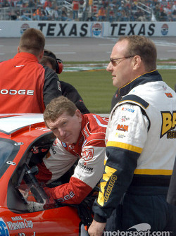 Bill Elliott and Ken Schrader
