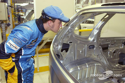 Visit of the Ayrton Senna Renault Factory in Curitiba: Fernando Alonso