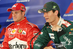 Press conference: Rubens Barrichello and Mark Webber