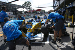 Pitstop simulation with Jarno Trulli