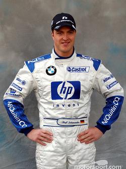 Photoshoot for Ralf Schumacher