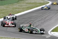 Mark Webber and Cristiano da Matta