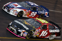 Greg Biffle and Jeff Burton