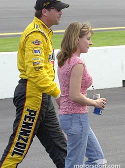 Steve Park and Tina Gibson