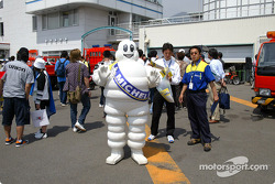 Bibendum, the Michelin man