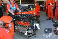 Ferrari 550 Maranello V12 engine