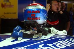 Mattias Ekström's helmet