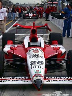 Dan Wheldon's car