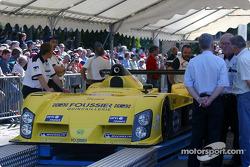 #24 Rachel Welter WR-Peugeot at scrutineering
