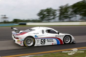#59 Brumos Racing Porsche Fabcar: Hurley Haywood, J.C. France, Chris Dyson