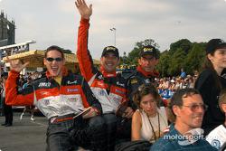 #11 JML Team Panoz Panoz-Elan LMP01: Olivier Beretta, Max Papis, Gunnar Jeannette