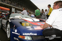 #50 Corvette Racing Gary Pratt Corvette-Chevrolet C5
