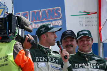 Podium: David Brabham, Mark Blundell