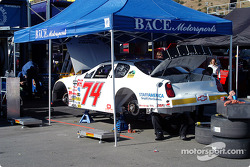BACE Motorsports garage area