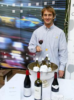 Renault F1 wine tasting evening: Jarno Trulli