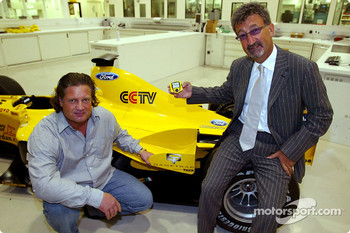 Eddie JordanJordan Team Principal announces new sponsorship deal with Gametrac
