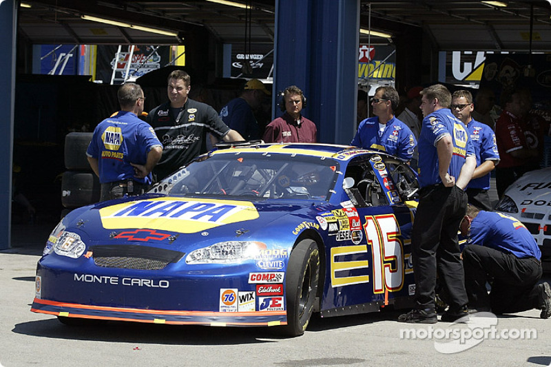 Michael Waltrip's car