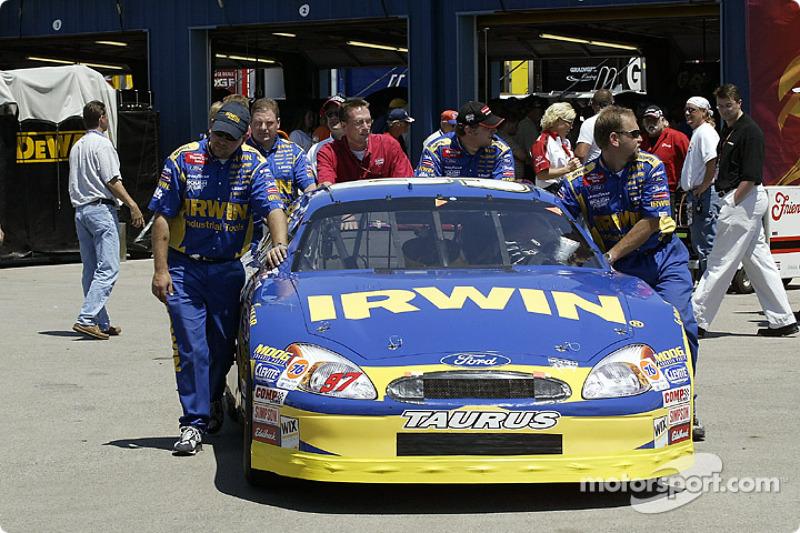Kurt Busch's car