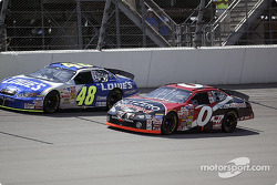 Jimmie Johnson and Jack Sprague