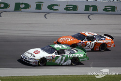 Casey Mears and Tony Stewart