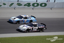 Ryan Newman and Jimmy Spencer