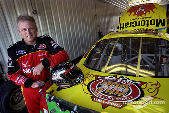 Ricky Rudd will make his 700th consecutive start on Sunday