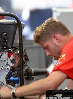 Prodrive Racing team member