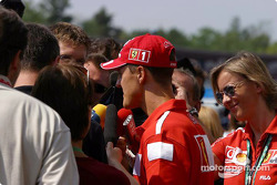 Interview for Michael Schumacher