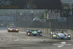 Last lap for #1 Infineon Team Joest Audi R8: Frank Biela, Marco Werner