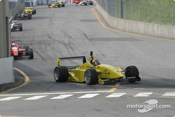 A.J. Allmendinger leads in early action