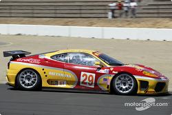 #29 JMB Racing USA/Team Ferrari Ferrari 360 Modena: Andrea Garbagnati, Ludovico Manfredi