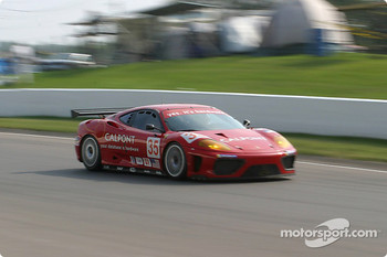 #35 Risi Competizione Ferrari 360 Modena: Anthony Lazzaro, Ralf Kelleners