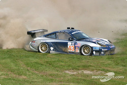#43 Orbit Racing Porsche 911 GT3 RS: Marc Lieb, Peter Baron in trouble