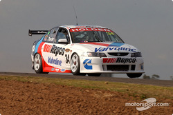 Garth Tander gets airborne across the top