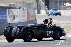 #183 1952 Jaguar XK-120