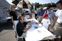 Autograph session: Frank Biela and Marco Werner